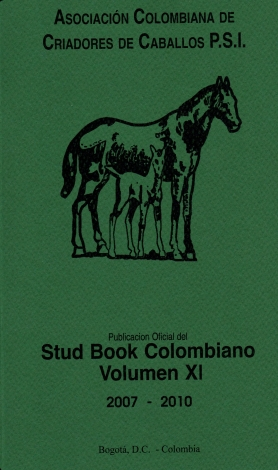 Stud Book Colombiano 2007-2010